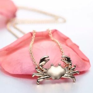 🎉 New Pincher Crab Gold Plated Necklace